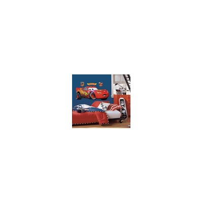 Room Mates Popular Characters Cars Lightening McQueen Giant Wall Decal