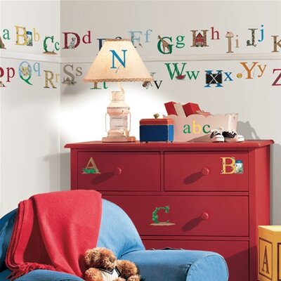 Studio Designs 73 Piece Alphabet Wall Decal by Room Mates