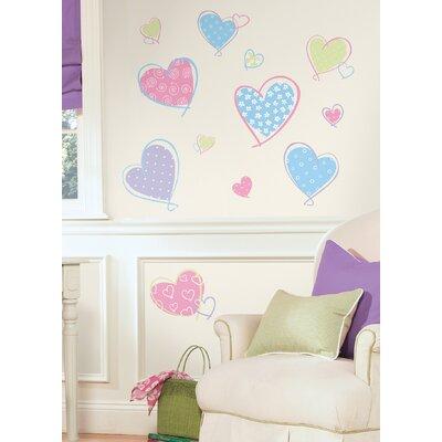 Room Mates Studio Designs Hearts Wall Decal