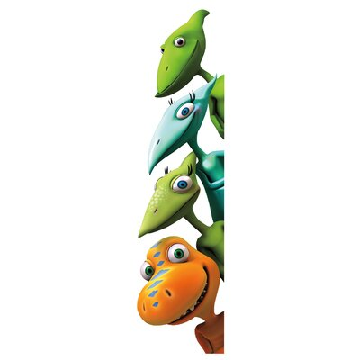Room Mates Peel and Stick Giant 18 Piece Dinosaur Train Wall Decal