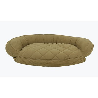 Microfiber Quilted Bolster Bed with Moisture Barrier Protection by KT Manufacturing