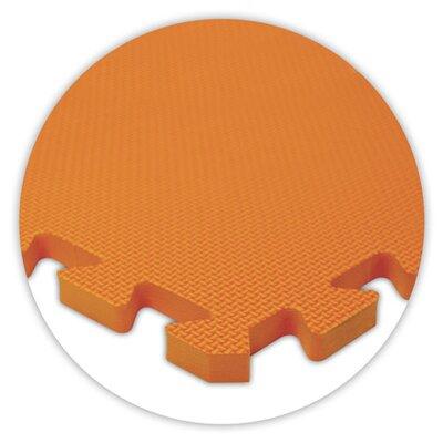 Alessco Inc. Premium SoftFloors Set in Orange