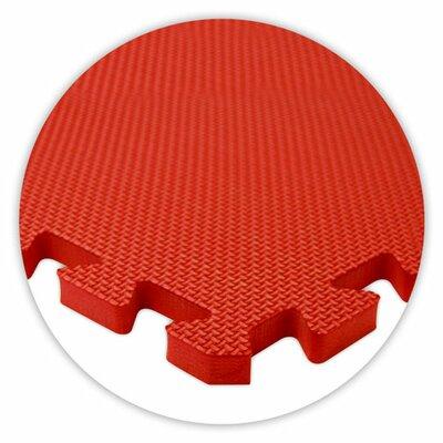 Alessco Inc. Premium SoftFloors Set in Red