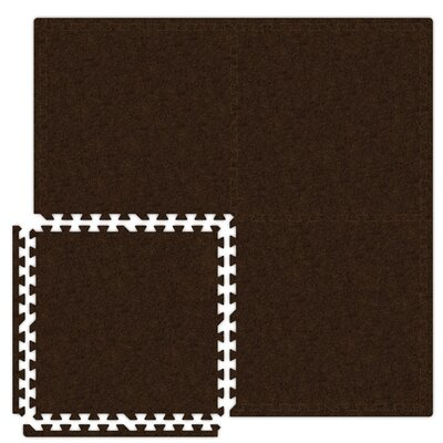Alessco Inc. Economy SoftCarpets Set in Brown