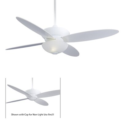 "52"" Zen 4 Blade Ceiling Fan with Remote Product Photo"