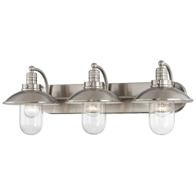 Downtown Edison 3 Light Bath Vanity Light Product Photo