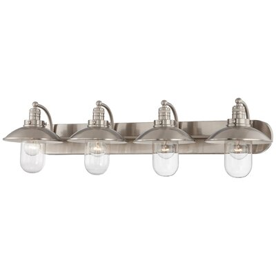 Downtown Edison 4 Light Bath Vanity Light Product Photo