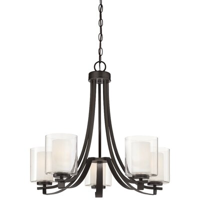 Parsons Studio 5 Light Candle Chandelier Product Photo