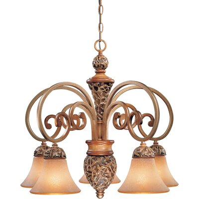 Salon Grand 5 Light Chandelier Product Photo