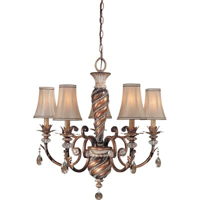 Aston Court 5 Light Chandelier Product Photo