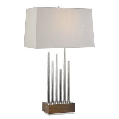 minka lavery 31 h table lamp with rectangular shade reviews. Black Bedroom Furniture Sets. Home Design Ideas