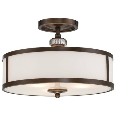 Thorndale 3 Light Semi-Flush Mount Product Photo