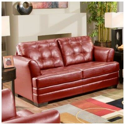 InRoom Designs Microfiber Sleeper Sofa IRD1242 Reviews