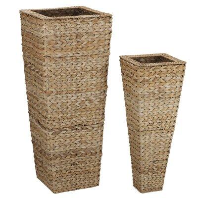 Household Essentials 2 Piece Nesting Vase Set