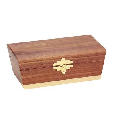 Cedar Treasure Chest Keepsake Box Product Photo