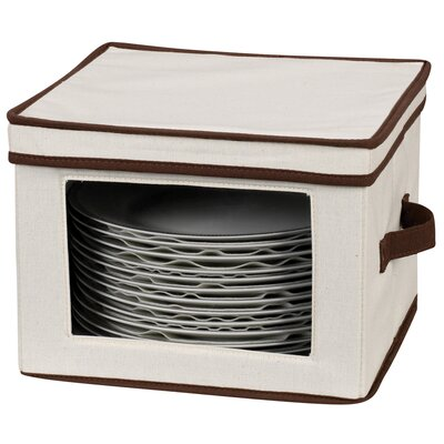 Household Essentials Storage & Organization Dinner Plate Storage Chest