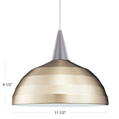 Felis Bowl Pendant by WAC Lighting