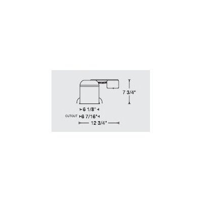 "WAC Lighting Line Voltage IC Remodel 6"" Recessed Housing"