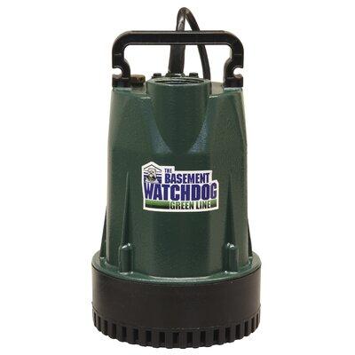 Submersible Sump Pump by Basement Watchdog
