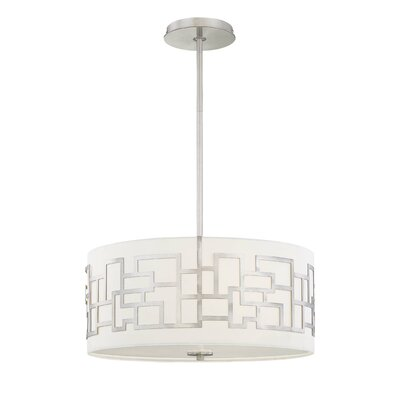 George Kovacs by Minka Benson 3 Light Drum Pendant