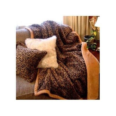 Leopard Throw Blanket by Posh Pelts