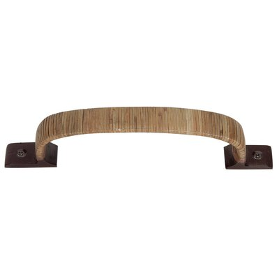 """Atlas Homewares Hamptons Bamboo Wrapped 4"""" Center Arch Pull"""