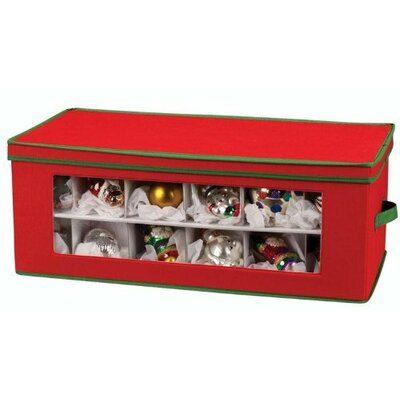 Christmas Ornament Storage Chest by Deluxe Comfort