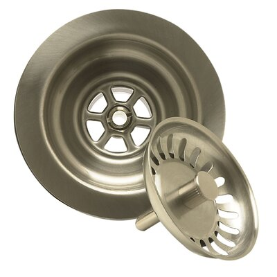 Kitchen Sink Strainer with Spring Loaded Center Post by Mountain Plumbing