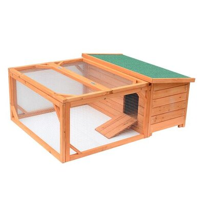 Pawhut Small Wooden Animal Coop by Aosom