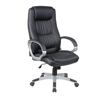 Aosom LLC High-Back Leather Synthetic Executive Chair