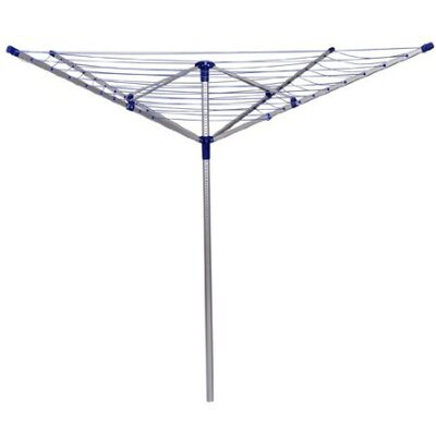 outsunny deluxe rotary clothesline 03 0001 xao1190 on garden decorations sale