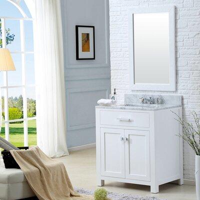 "Madison 30"" Single Bathroom Vanity Set with Mirror Product Photo"