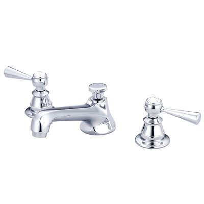 F2-0009-01 American 20th Century Classic Widespread Lavatory Faucet With Pop-Up Drain by Water ...