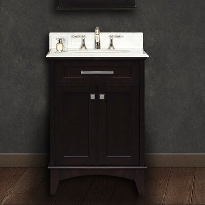 "Manhattan 24"" Single Standard Bathroom Vanity Set Product Photo"