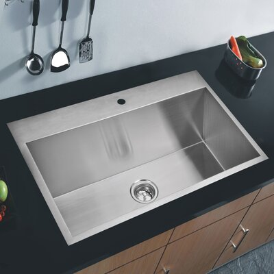 Single Bowl Kitchen Sink Product Photo