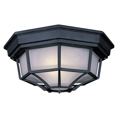 Great Outdoors by Minka The Great Outdoors 1 Light Flush Mount