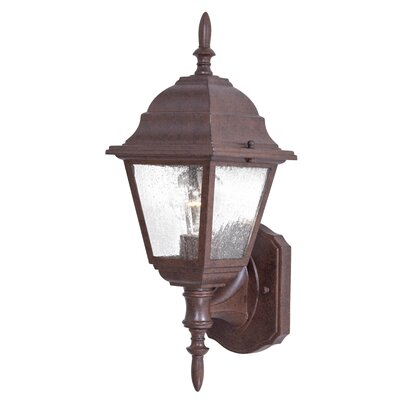 Great Outdoors by Minka Bay Hill 1 Light Wall Lantern