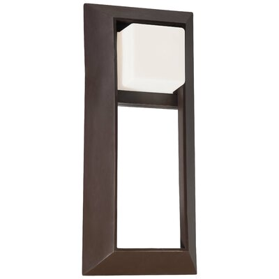 Great Outdoors by Minka Casona Square 1 Light Wall Lantern