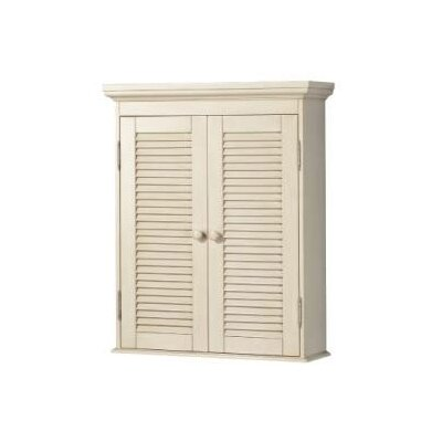 """Foremost Cottage 23.75"""" x 29"""" Wall Mounted Cabinet"""