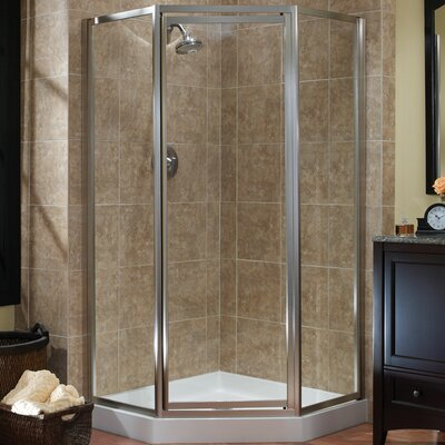 "Tides 70"" Framed Neo-Angle Shower Door Product Photo"