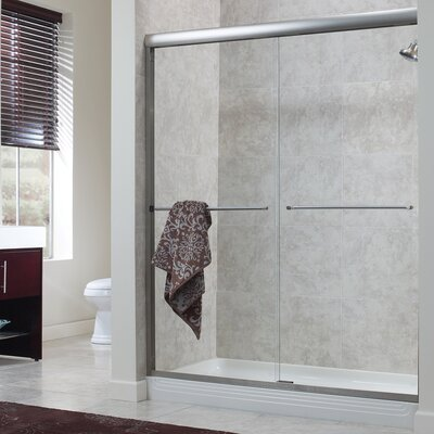 "Cove 72"" x 48"" Frameless Sliding Shower Door Product Photo"