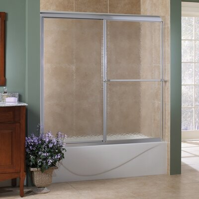 "Tides 58"" x 60"" Framed Sliding Tub Door Product Photo"