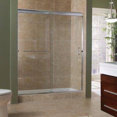 "Marina 72"" x 48"" Framless Sliding Shower Door Product Photo"