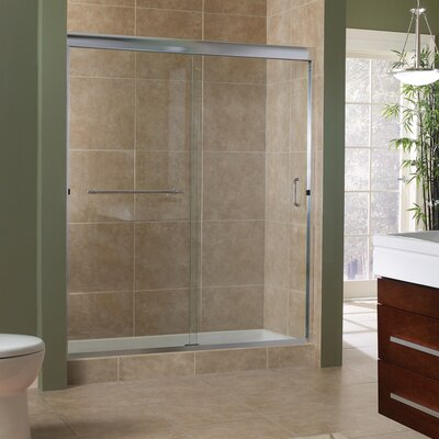 "Marina 76"" x 60"" Framless Sliding Shower Door Product Photo"