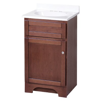 "Foremost Columbia 19"" Single Bathroom Vanity Set"