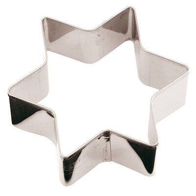 Stainless Steel Star Cookie Cutter by Paderno World Cuisine