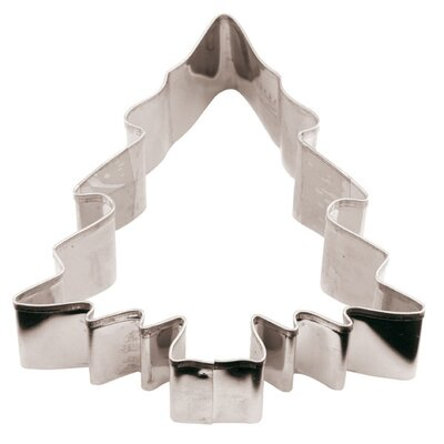 Stainless Steel Christmas Tree Cookie Cutter by Paderno World Cuisine