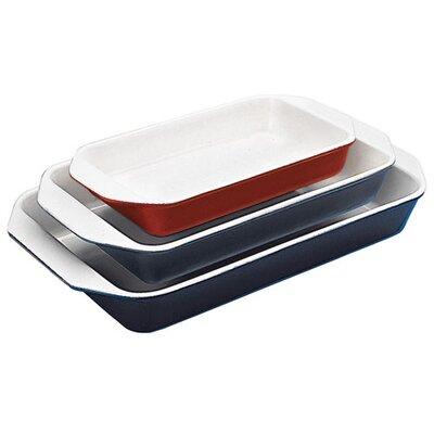 "Paderno World Cuisine 13.63"" Enamel Rectangular Dish"