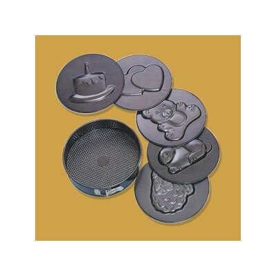 Non-Stick Imprints Springform Pan by Paderno World Cuisine