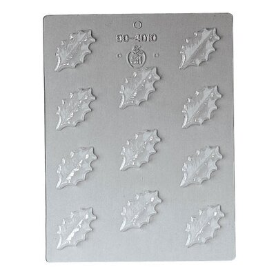 Holly Chocolate Mold by Paderno World Cuisine